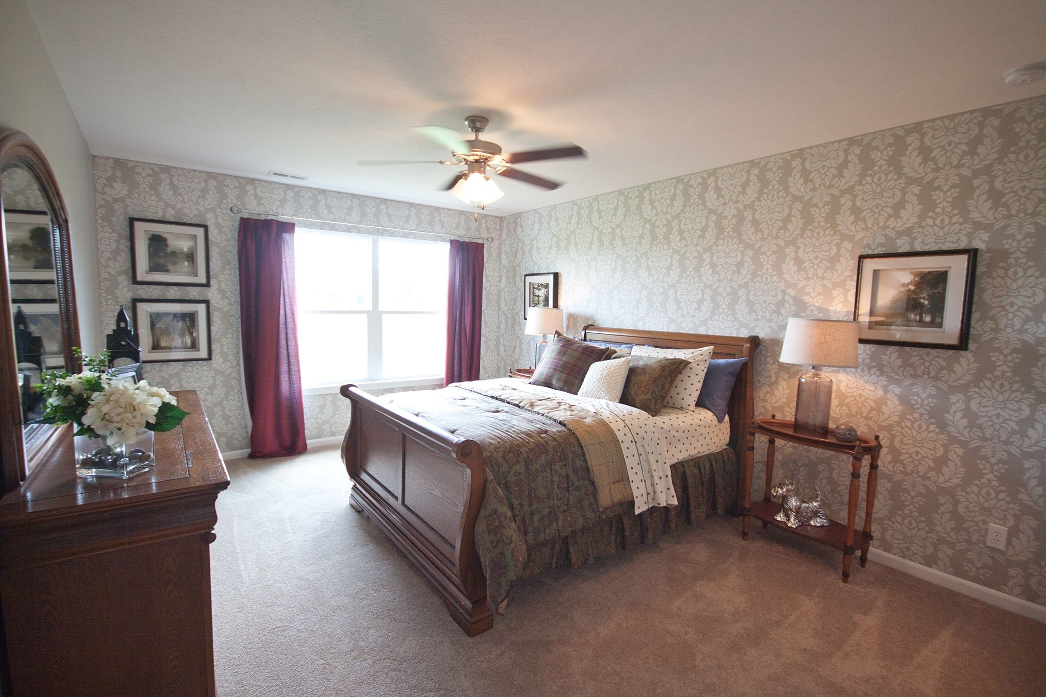 Bedroom featured in the Cordoba By Olthof Homes in Gary, IN