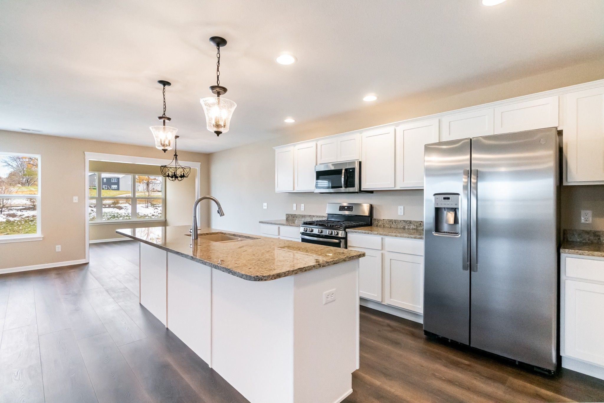Kitchen featured in the Brighton By Olthof Homes in Gary, IN