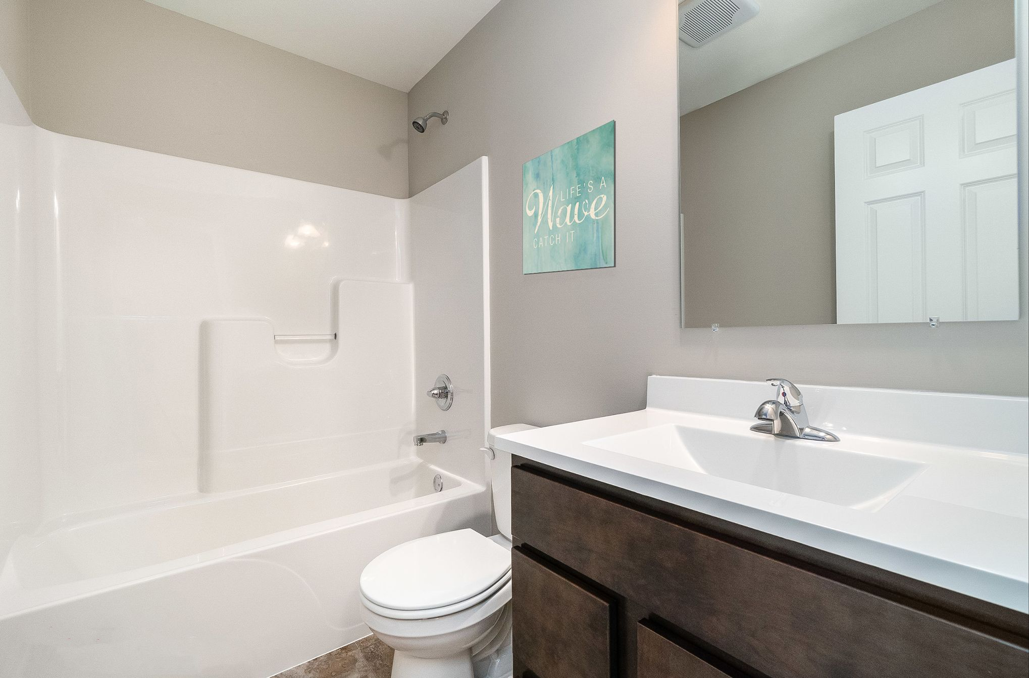 Bathroom featured in the Aria By Olthof Homes in Indianapolis, IN