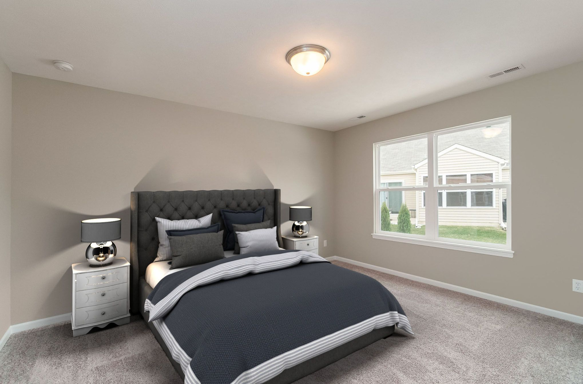 Bedroom featured in the Bradford By Olthof Homes in Gary, IN