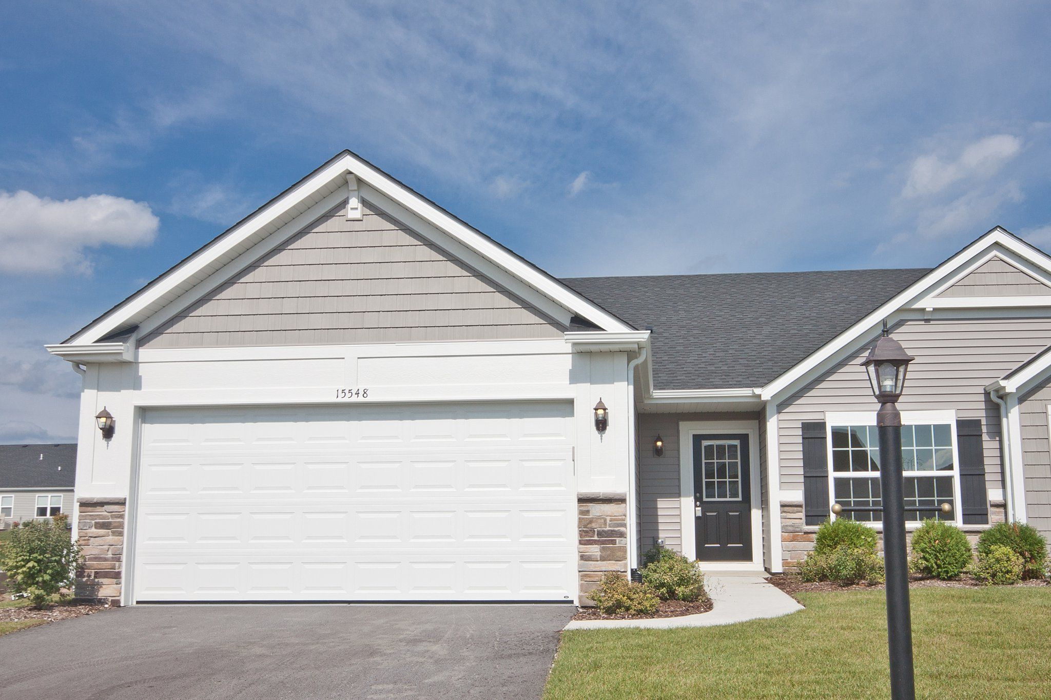 Exterior featured in the Cordoba By Olthof Homes in Indianapolis, IN