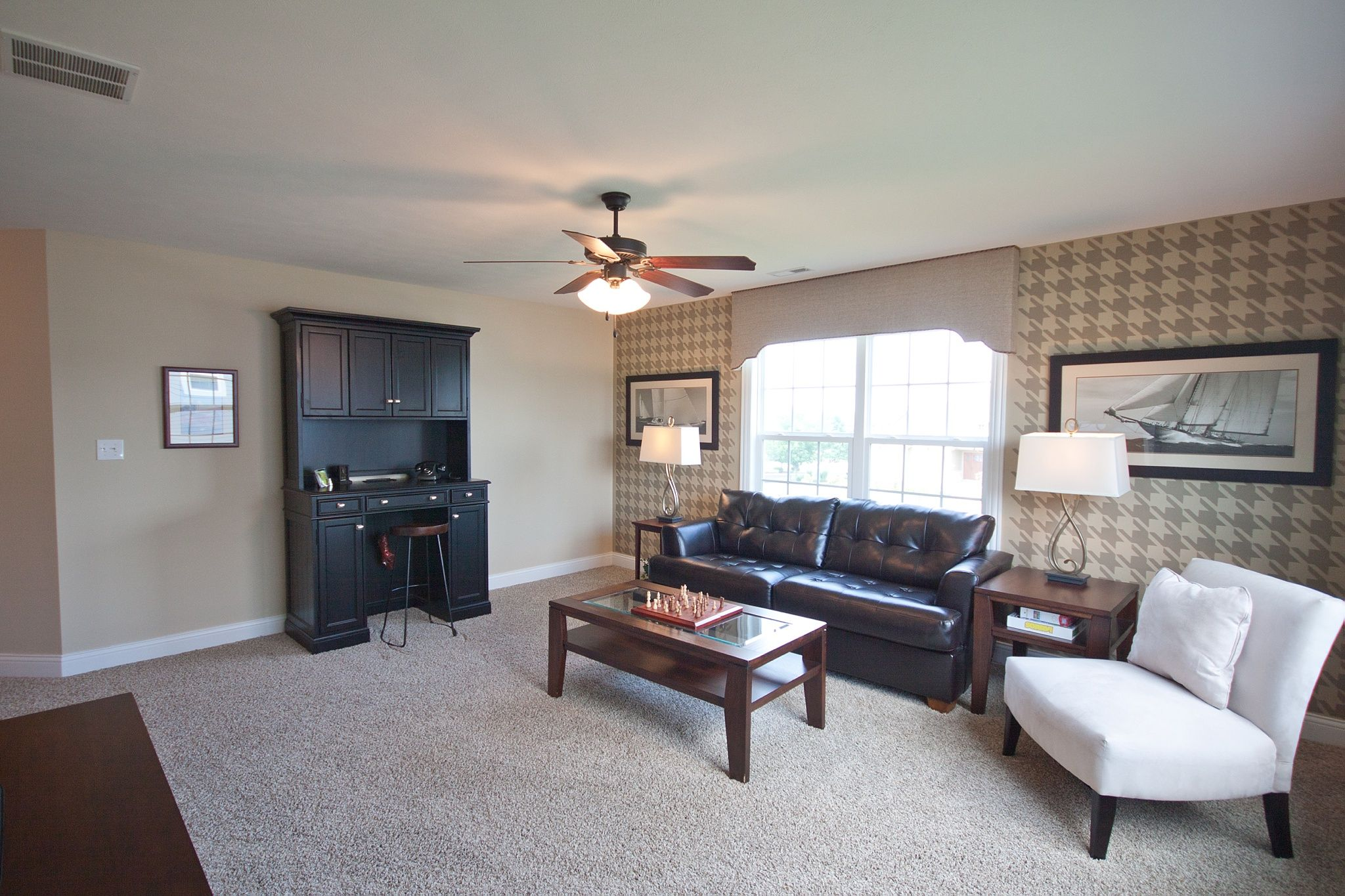 Living Area featured in the Larkspur By Olthof Homes in Gary, IN