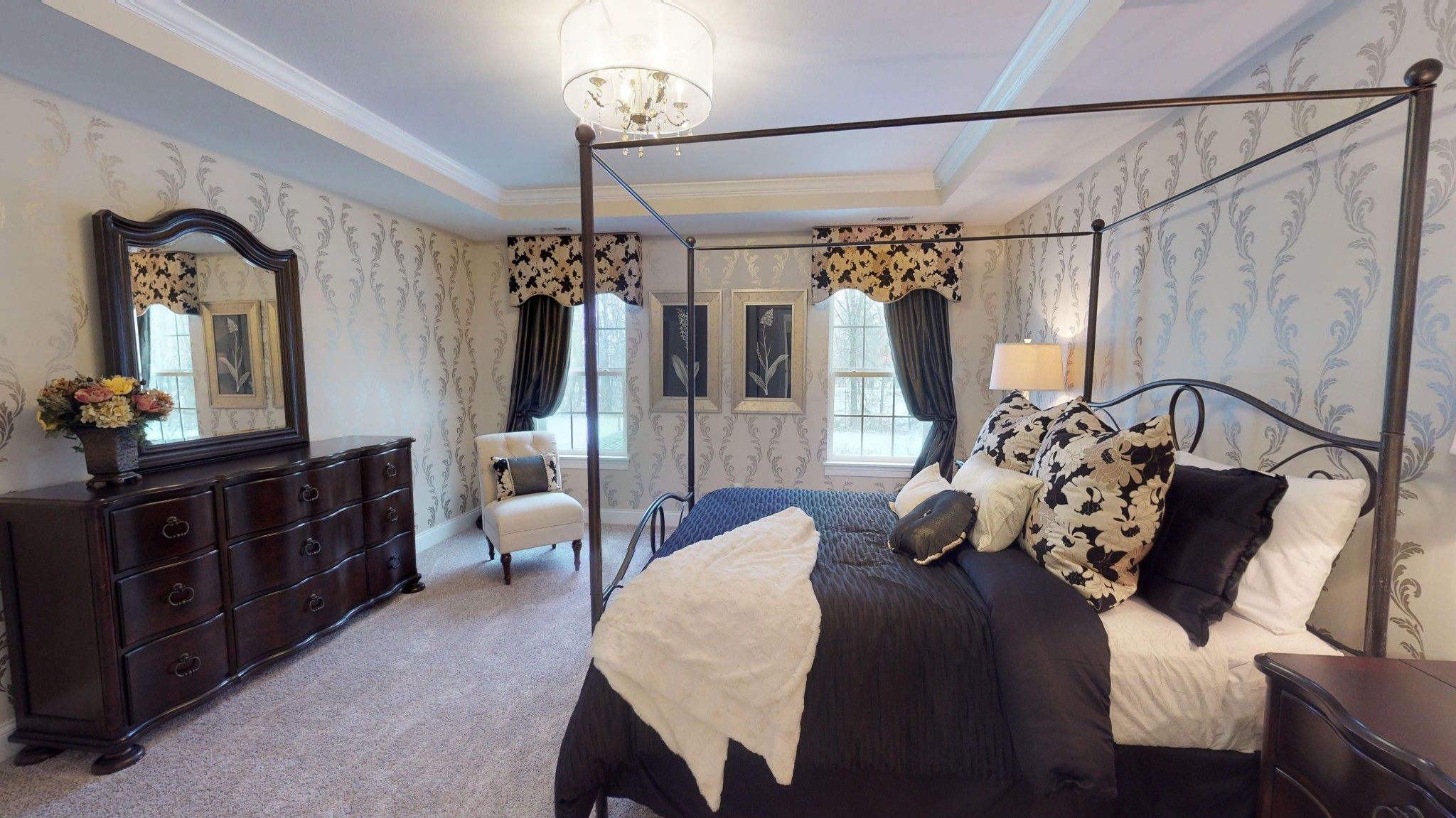 Bedroom featured in the Cordera By Olthof Homes in Gary, IN