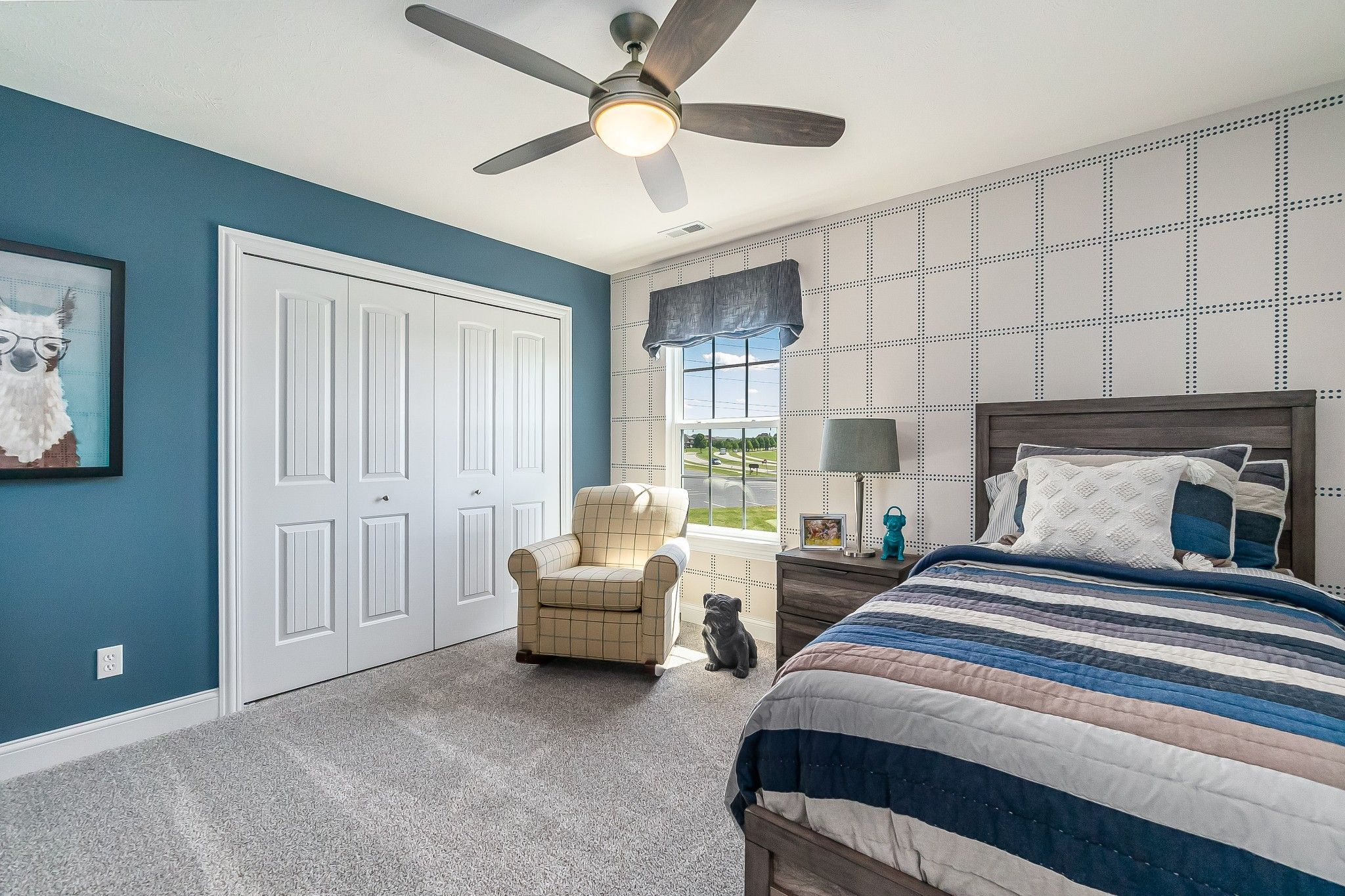 Bedroom featured in the Sierra By Olthof Homes in Gary, IN
