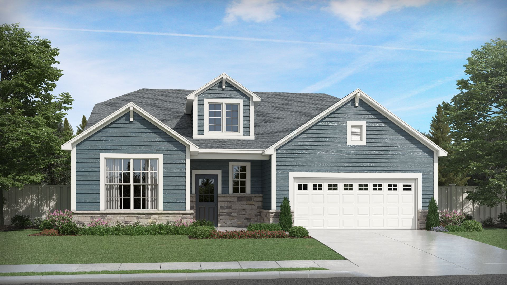 Exterior featured in the Harmony By Olthof Homes in Gary, IN