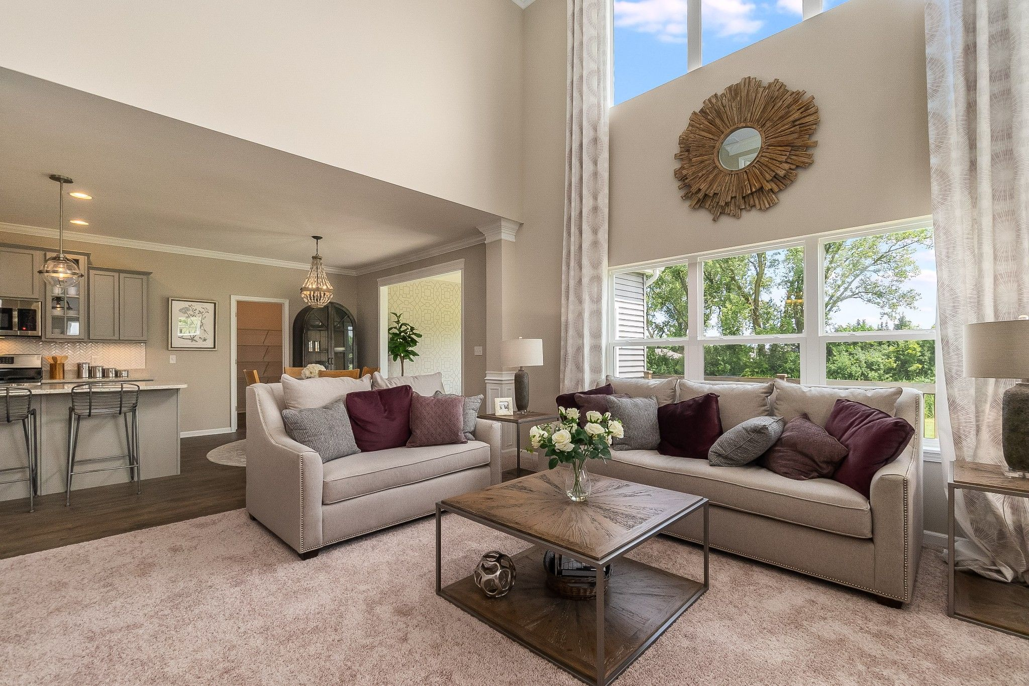 Living Area featured in the Sedona By Olthof Homes in Indianapolis, IN