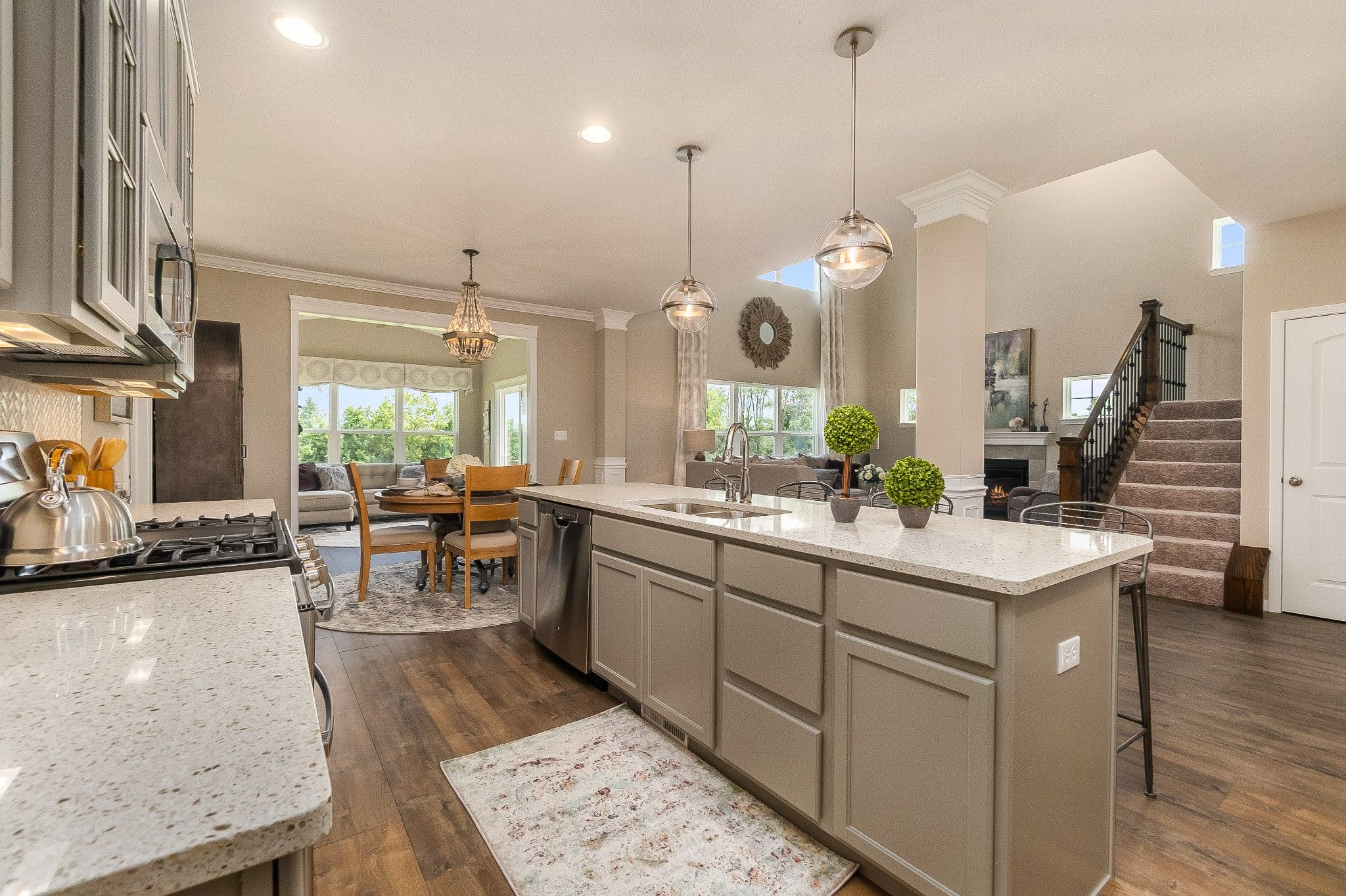 Kitchen featured in the Sedona By Olthof Homes in Indianapolis, IN