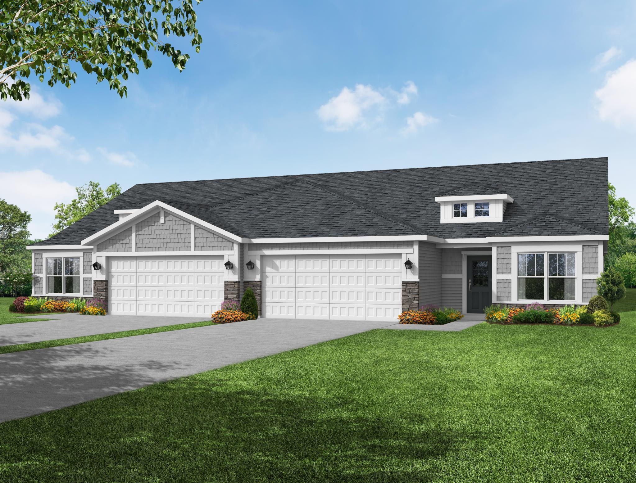 Exterior featured in the Keaton By Olthof Homes in Indianapolis, IN