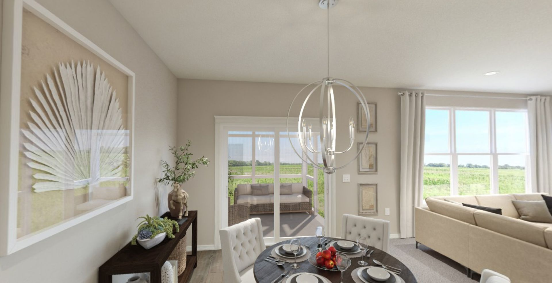 Kitchen featured in the Sonata By Olthof Homes in Indianapolis, IN