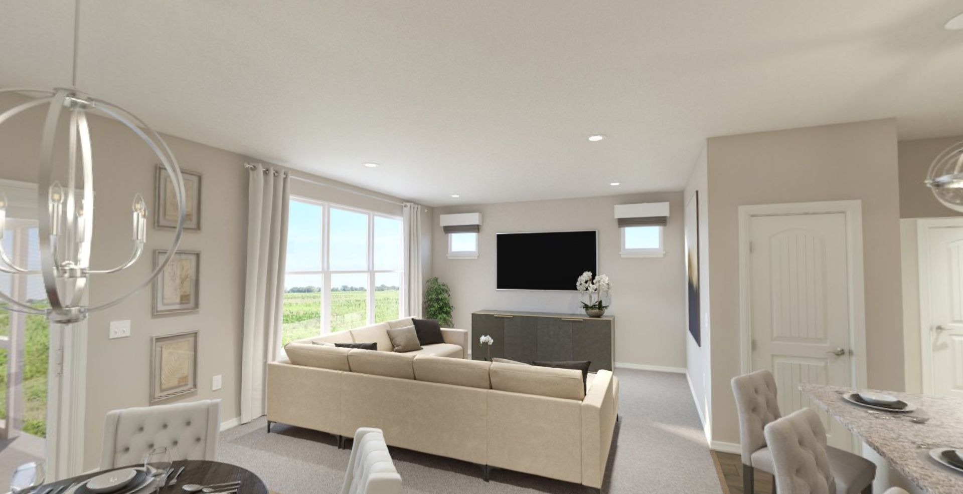 Living Area featured in the Sonata By Olthof Homes in Indianapolis, IN