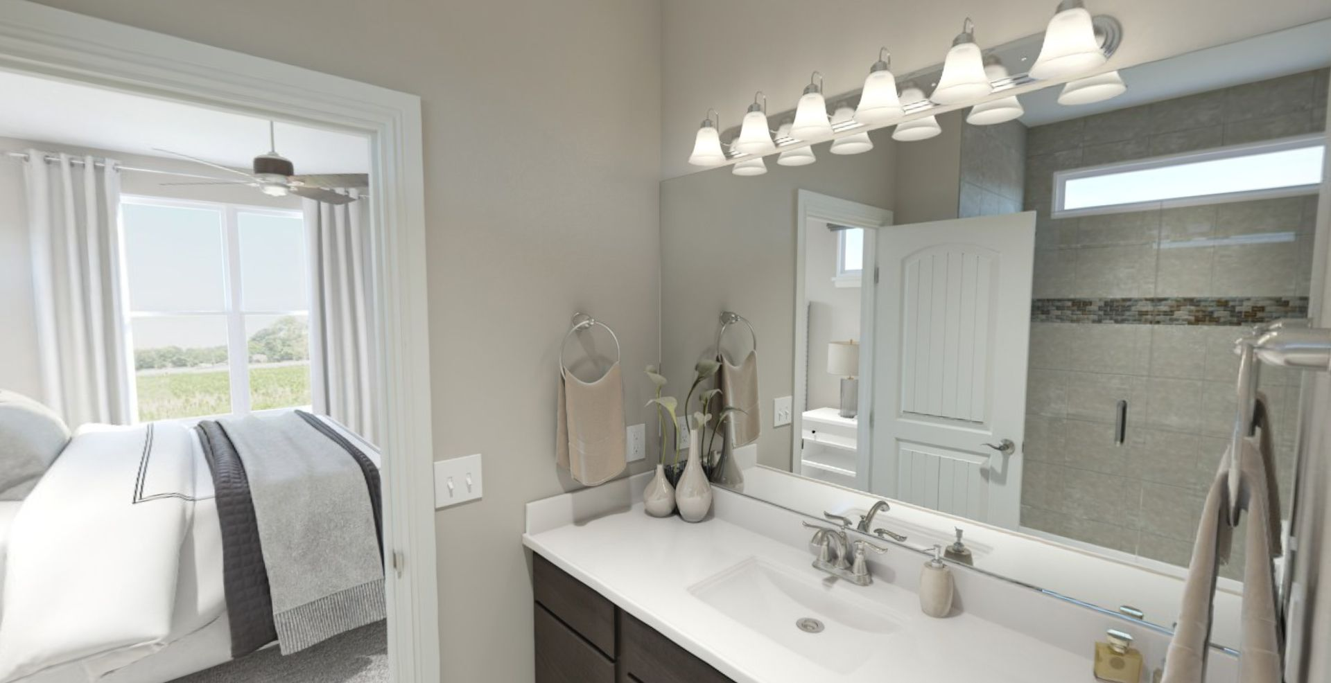 Bathroom featured in the Sonata By Olthof Homes in Indianapolis, IN