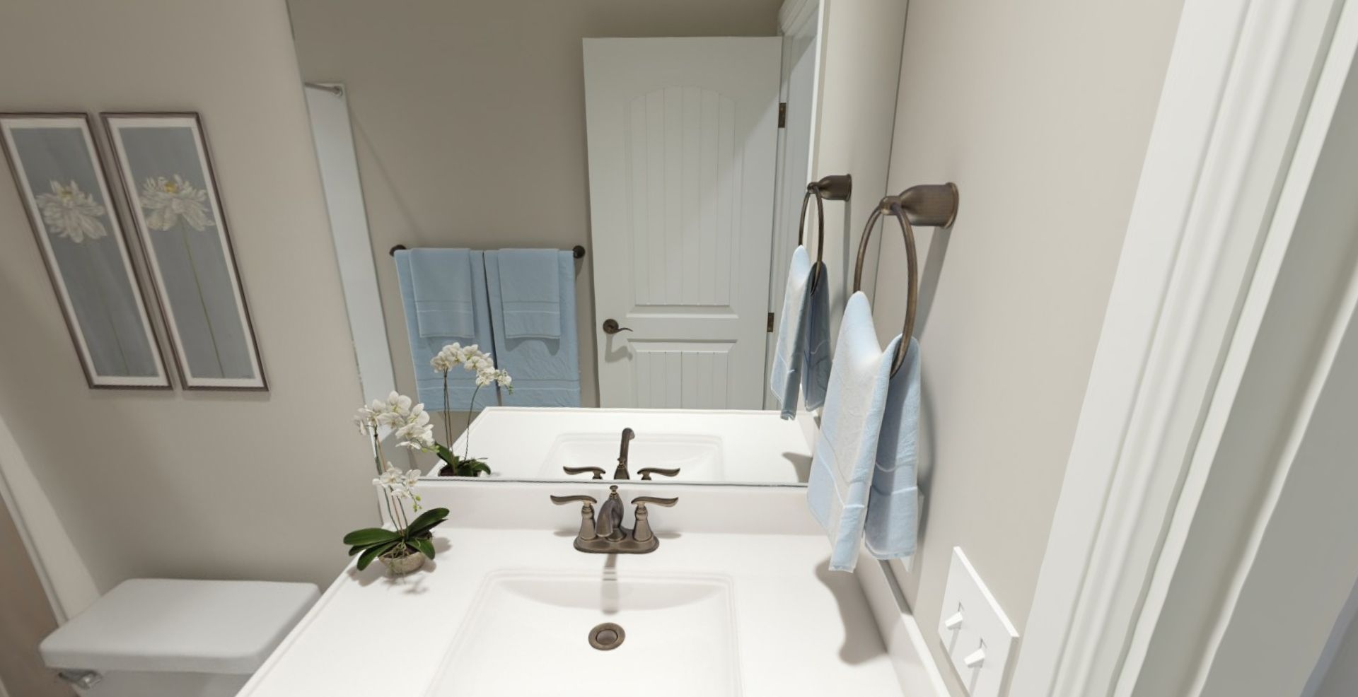 Bathroom featured in the Harmony By Olthof Homes in Gary, IN