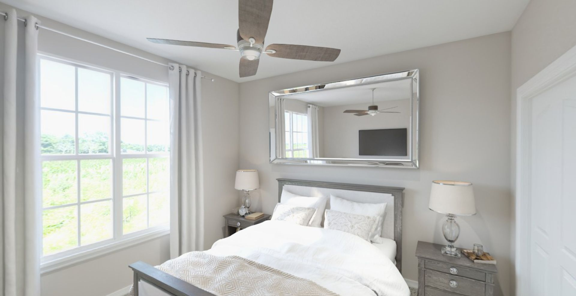 Bedroom featured in the Harmony By Olthof Homes in Gary, IN