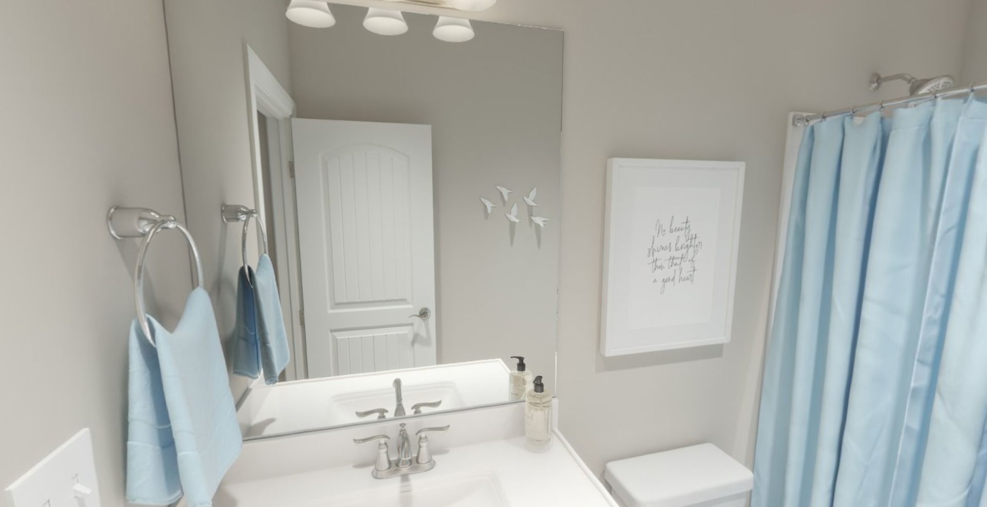Bathroom featured in the Adagio By Olthof Homes in Indianapolis, IN