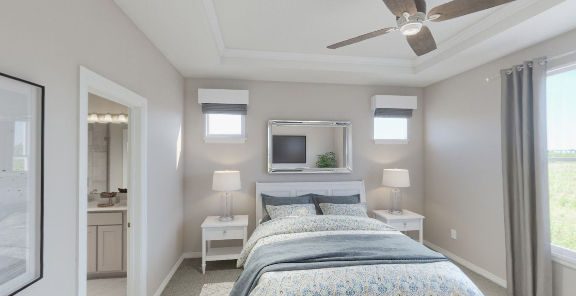 Bedroom featured in the Adagio By Olthof Homes in Indianapolis, IN