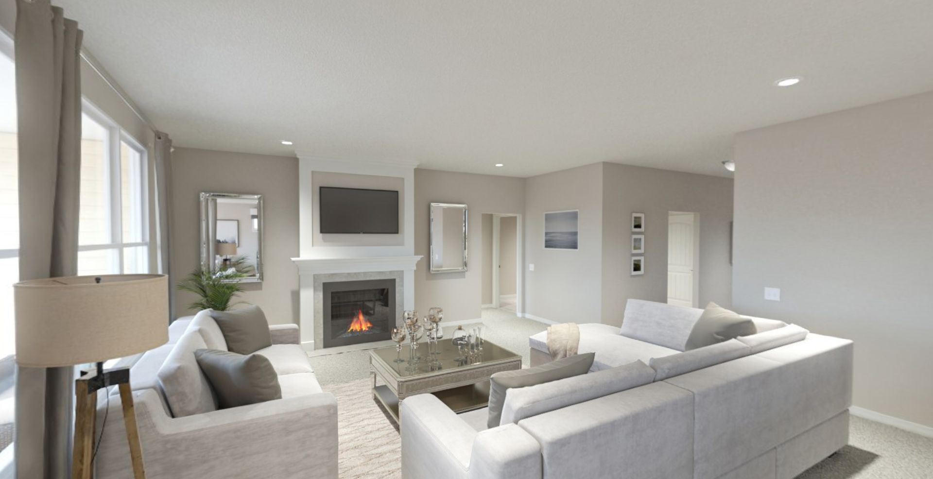 Living Area featured in the Cadenza By Olthof Homes in Indianapolis, IN