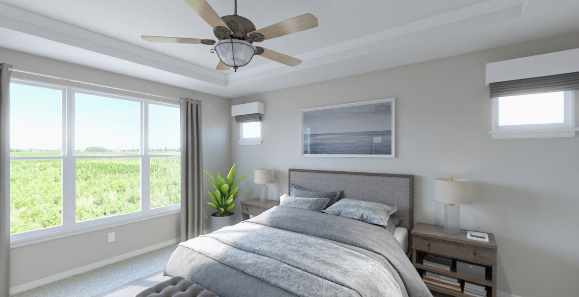 Bedroom featured in the Cadenza By Olthof Homes in Indianapolis, IN