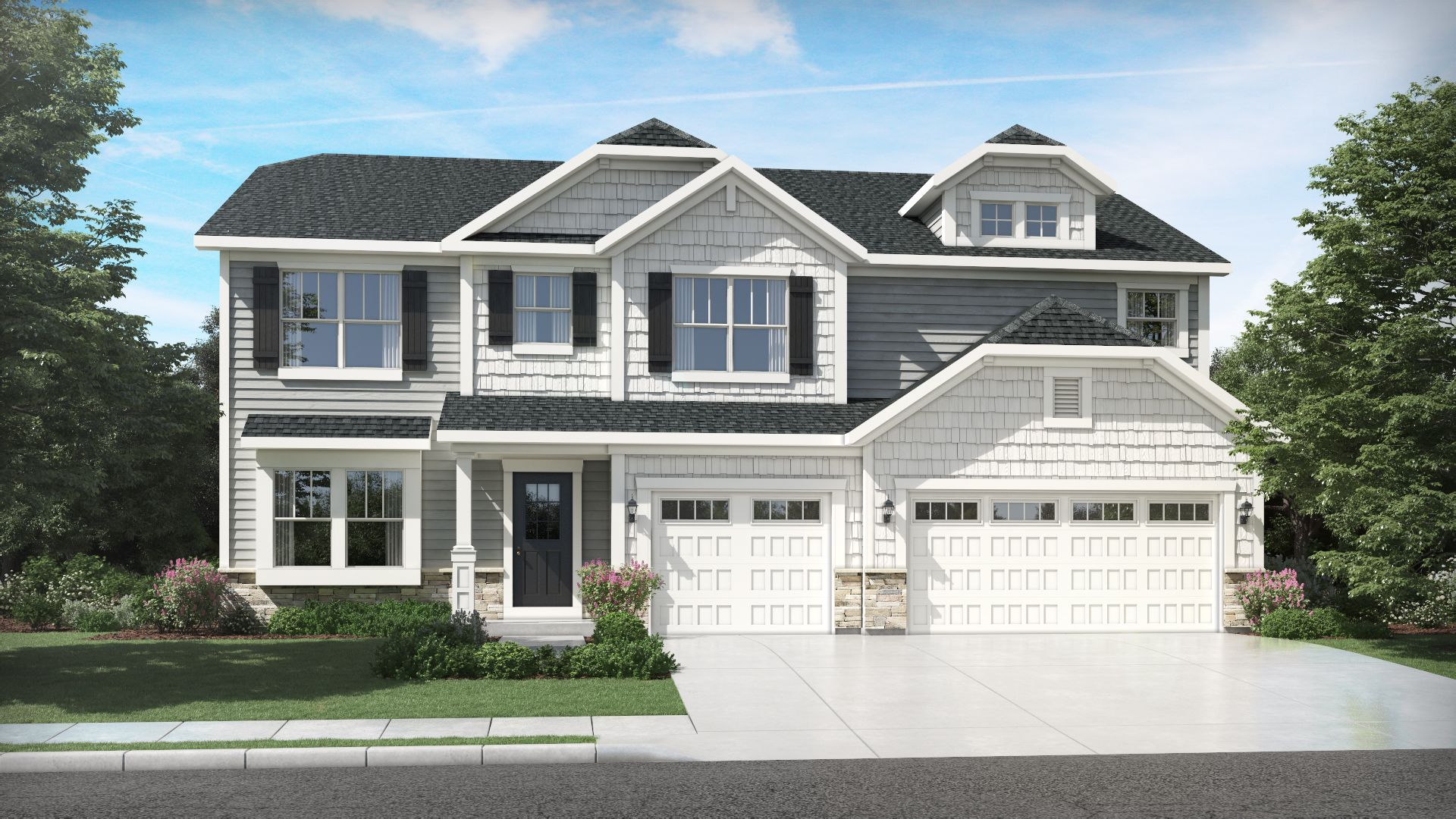 Exterior featured in the Willow By Olthof Homes in Indianapolis, IN
