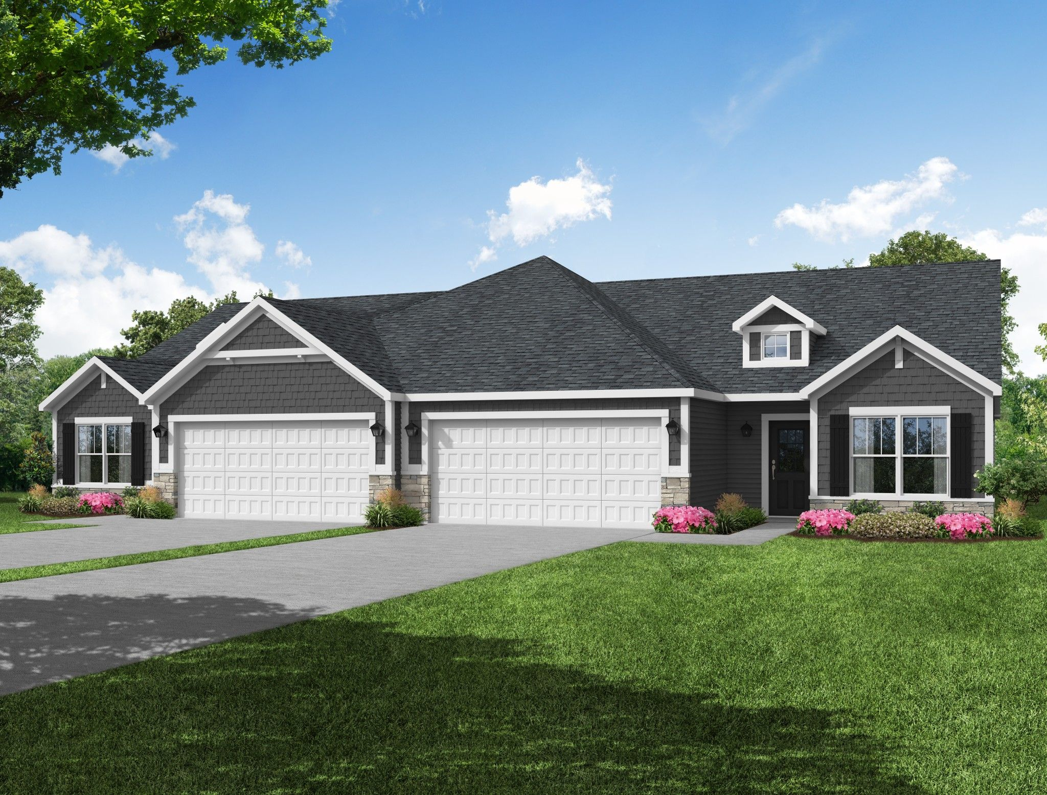 Exterior featured in the Brighton By Olthof Homes in Gary, IN