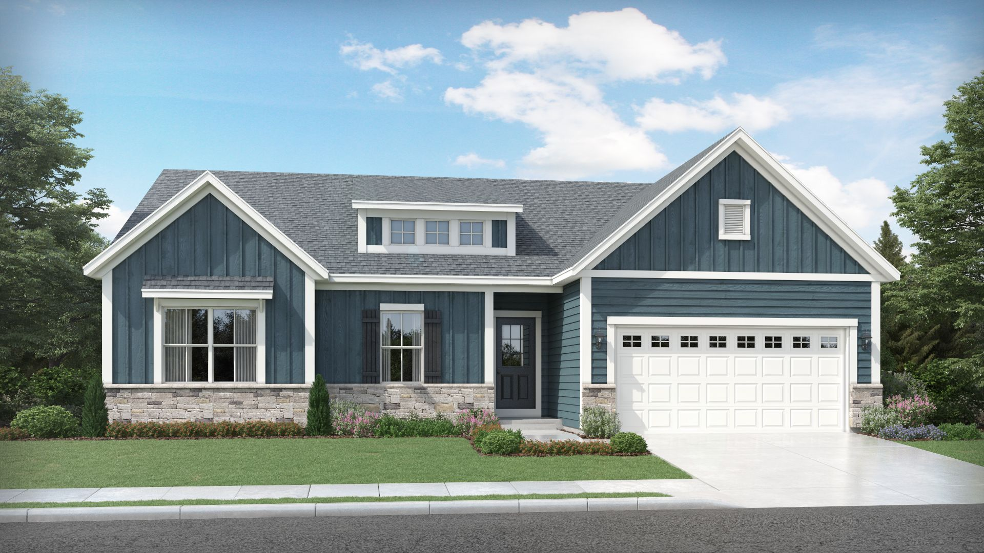 Exterior featured in the Hudson By Olthof Homes in Gary, IN
