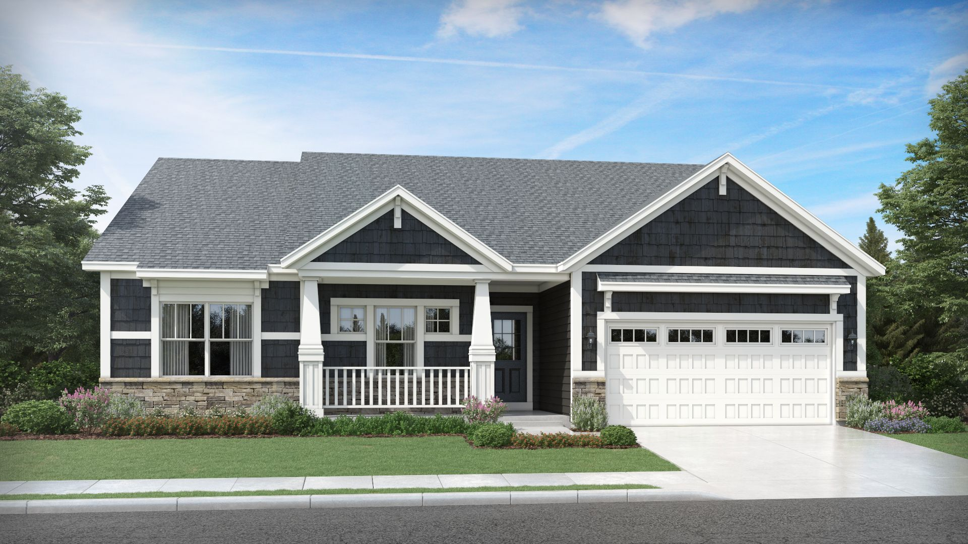 Exterior featured in the Hudson By Olthof Homes in Indianapolis, IN