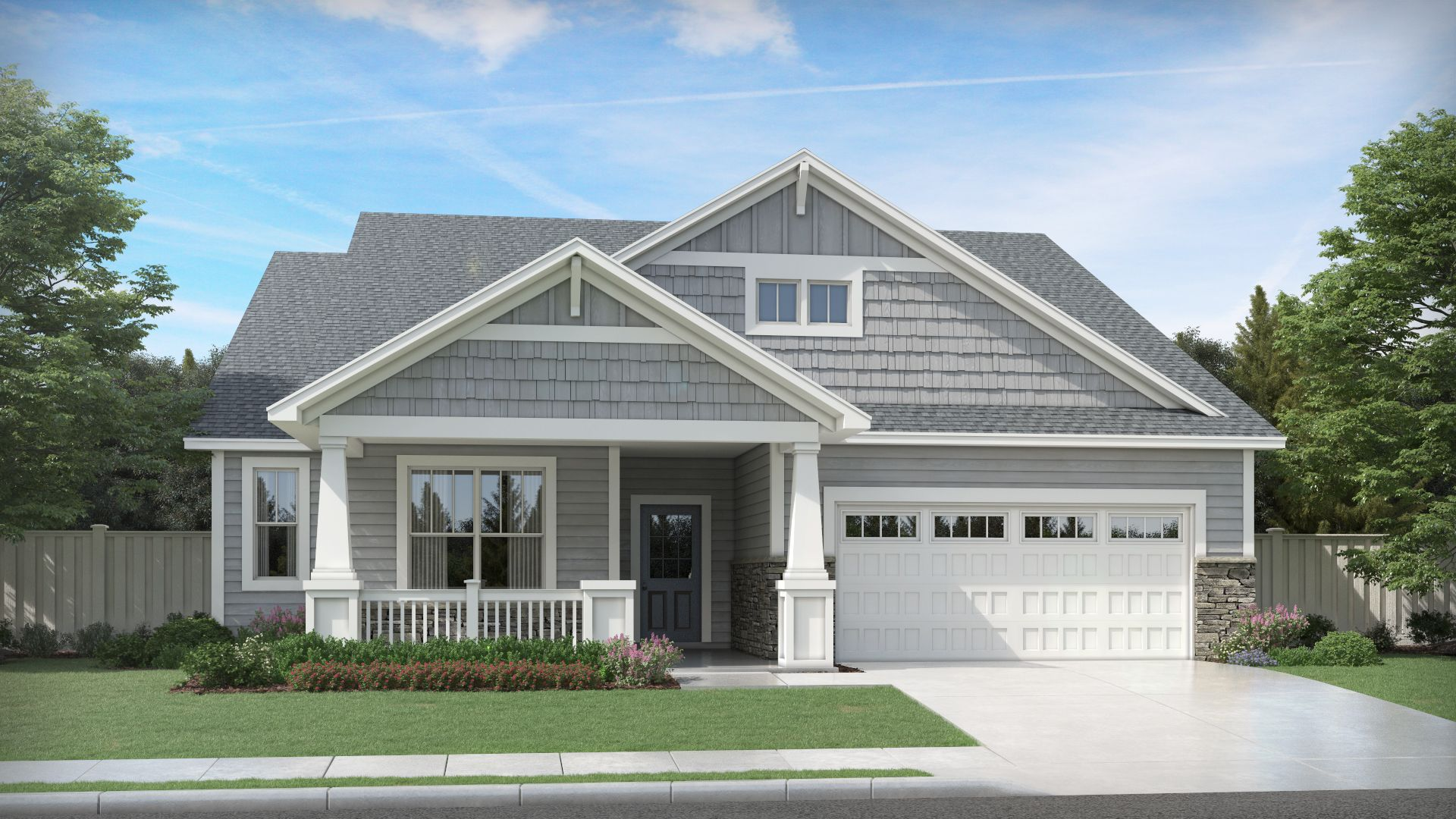 'Hawthorne East' by Olthof Homes in Gary