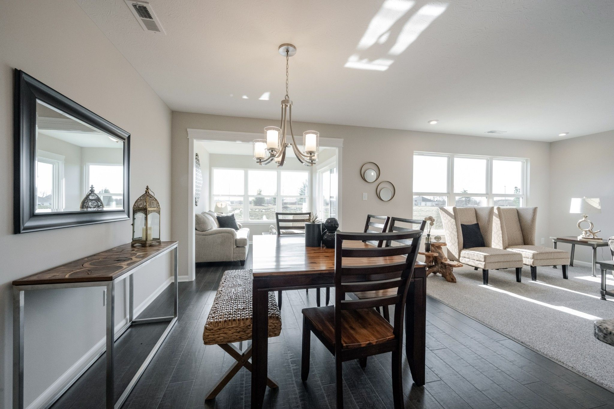 Living Area featured in the Laine By Olthof Homes in Indianapolis, IN