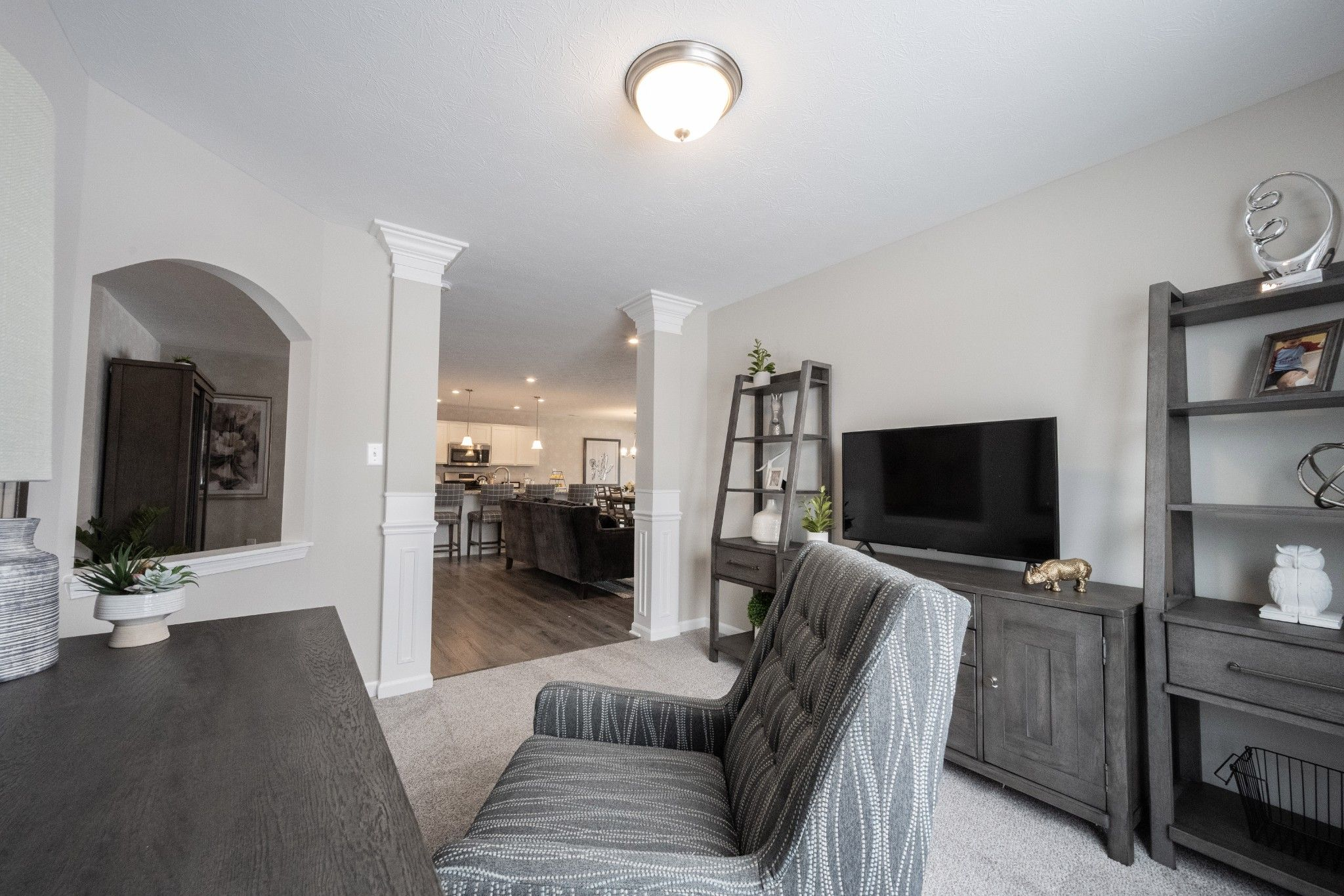 Living Area featured in the Keaton By Olthof Homes in Indianapolis, IN