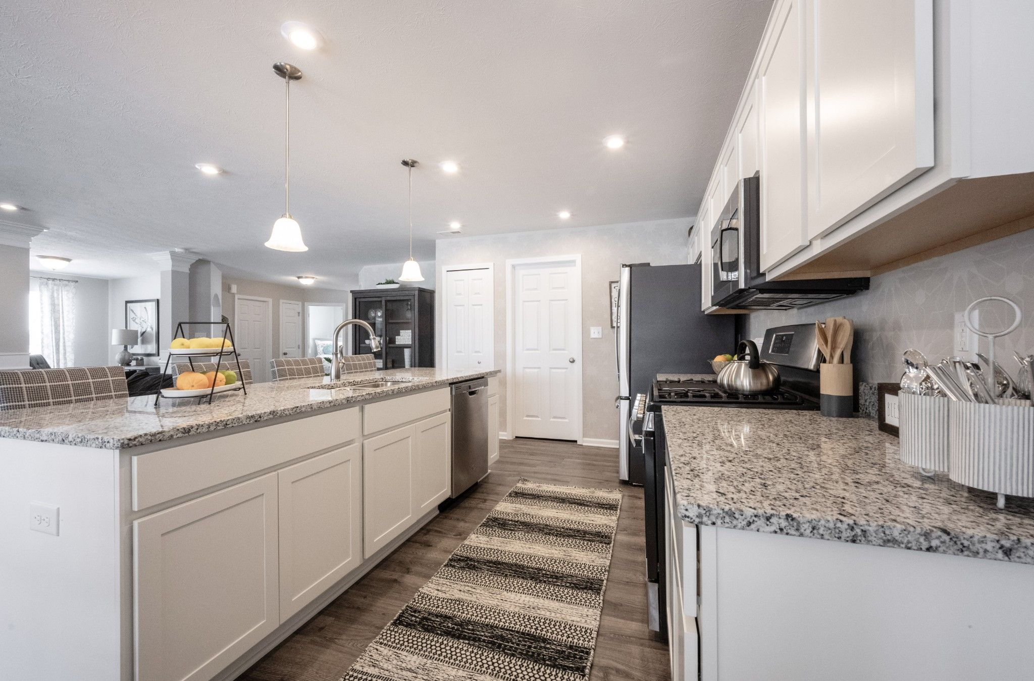 Kitchen featured in the Keaton By Olthof Homes in Indianapolis, IN