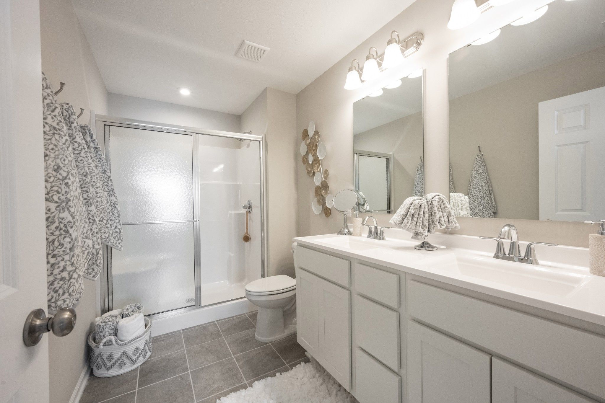Bathroom featured in the Keaton By Olthof Homes in Indianapolis, IN