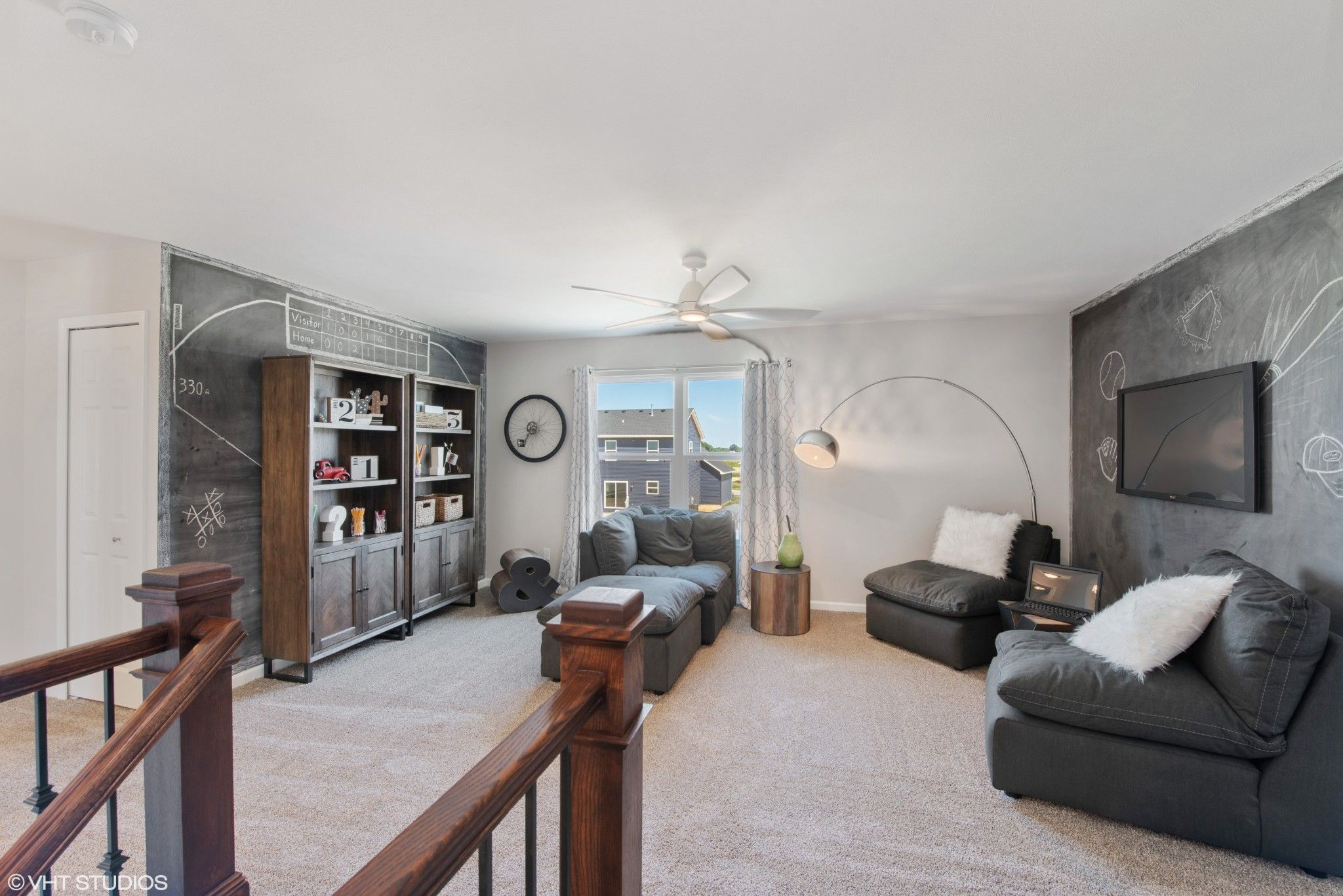 Living Area featured in the Carson By Olthof Homes in Gary, IN
