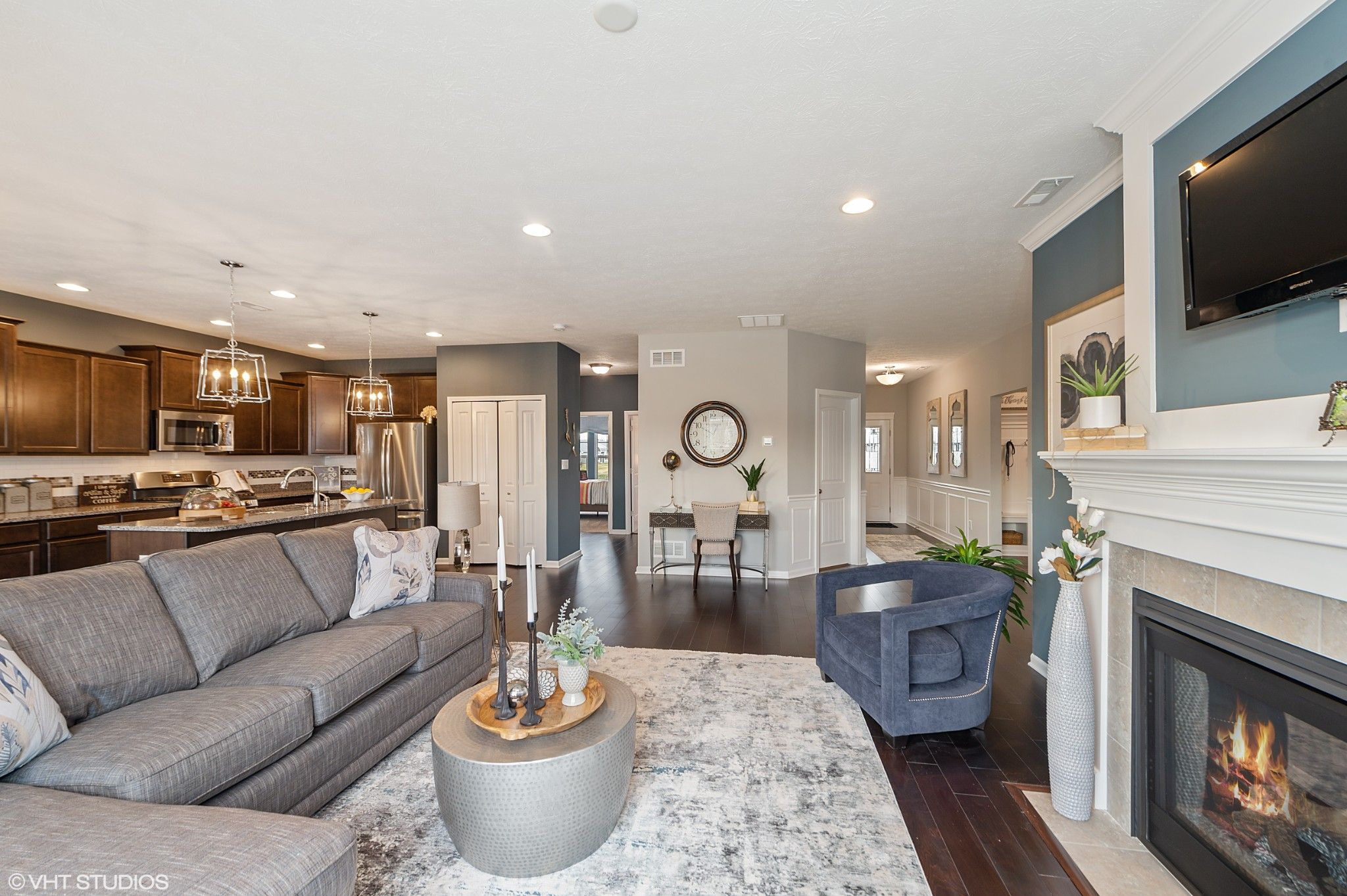 Living Area featured in the Hudson By Olthof Homes in Indianapolis, IN