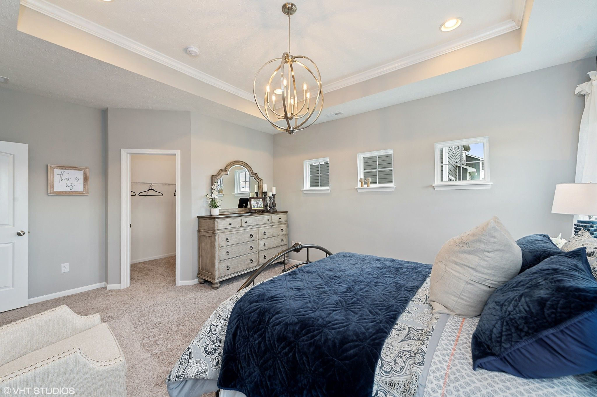 Bedroom featured in the Hudson By Olthof Homes in Gary, IN