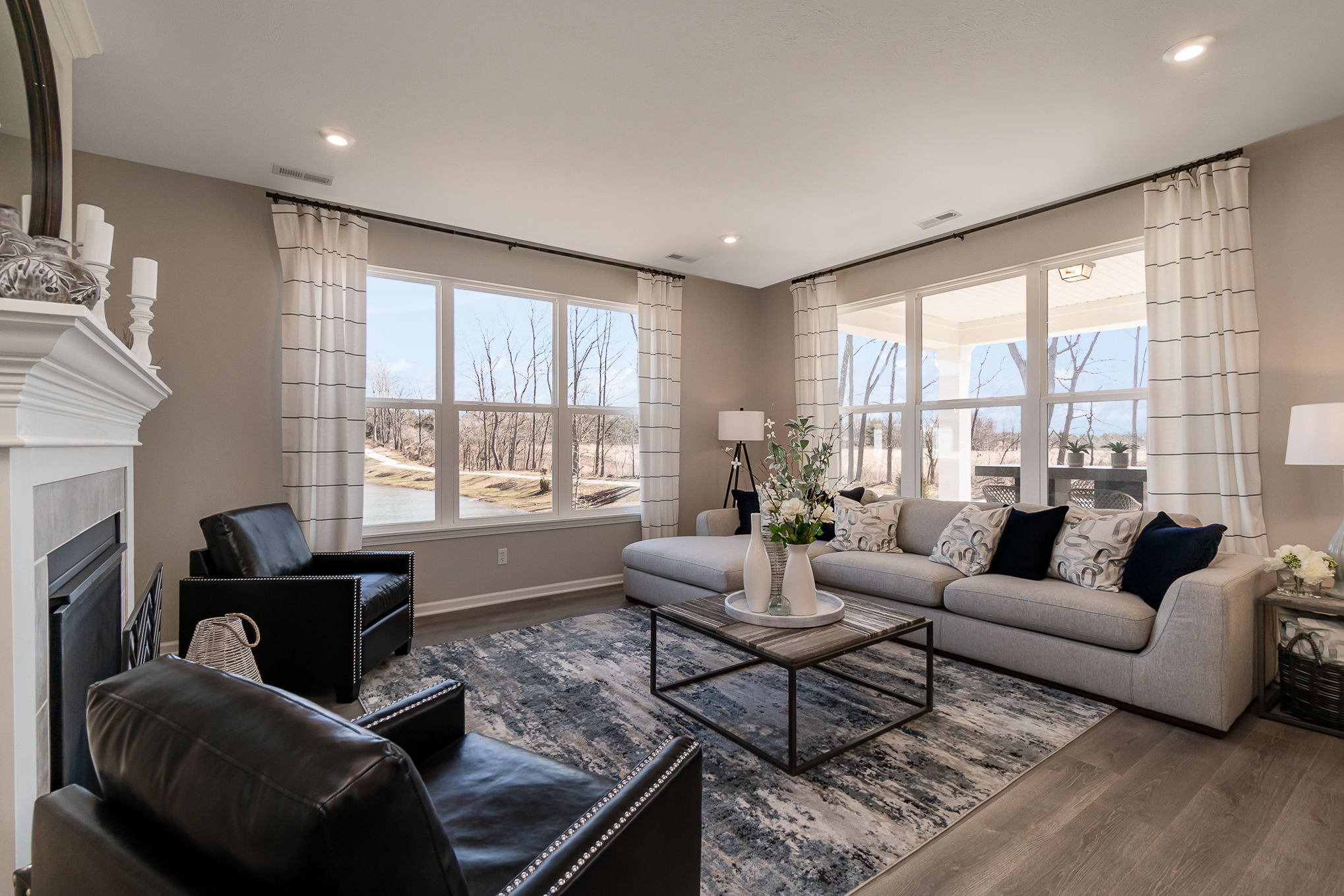 Living Area featured in the Harmony By Olthof Homes in Indianapolis, IN