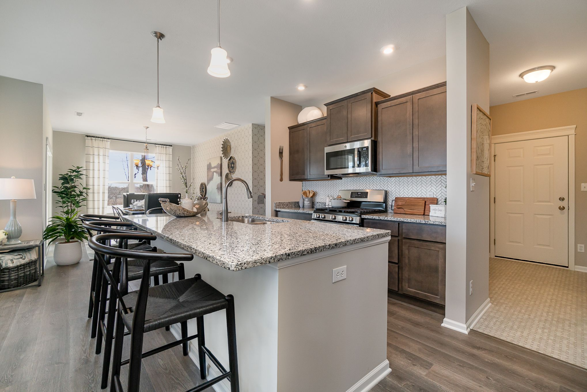 Kitchen featured in the Harmony By Olthof Homes in Indianapolis, IN
