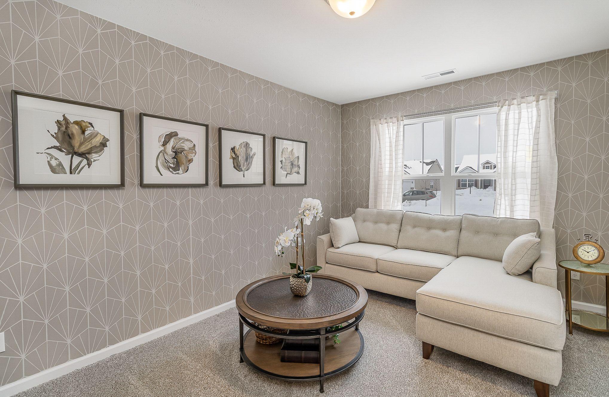 Living Area featured in the Cordoba By Olthof Homes in Indianapolis, IN