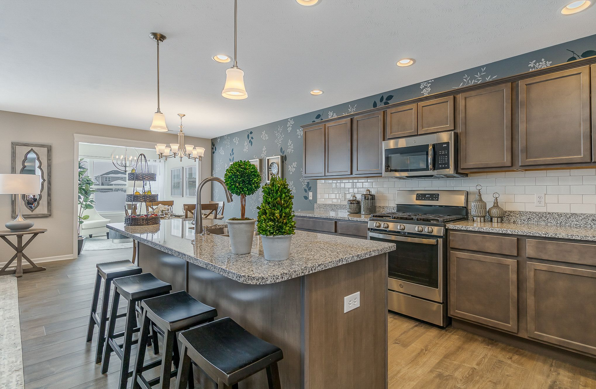 Kitchen featured in the Cordoba By Olthof Homes in Indianapolis, IN