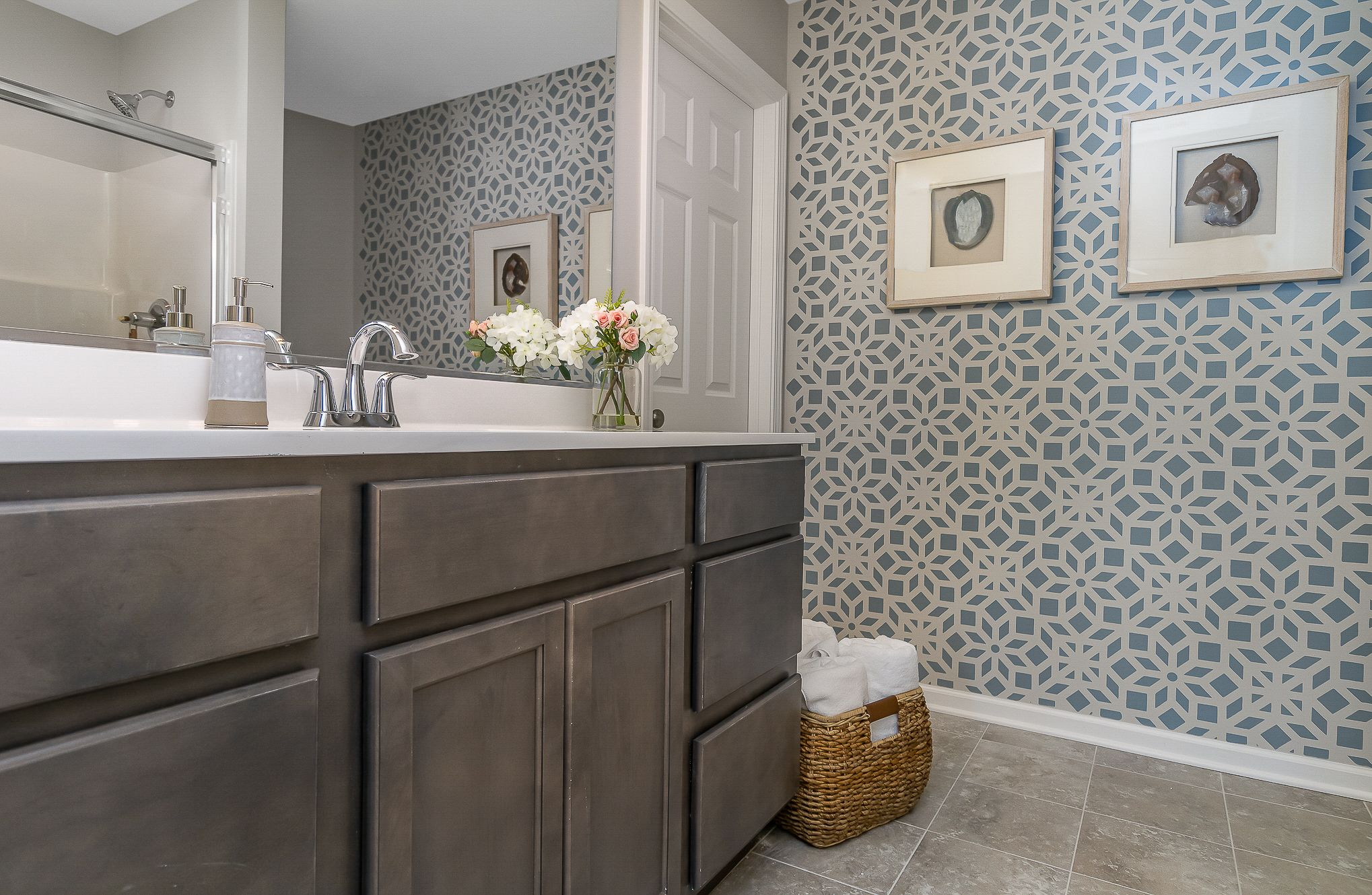 Bathroom featured in the Cordoba By Olthof Homes in Indianapolis, IN