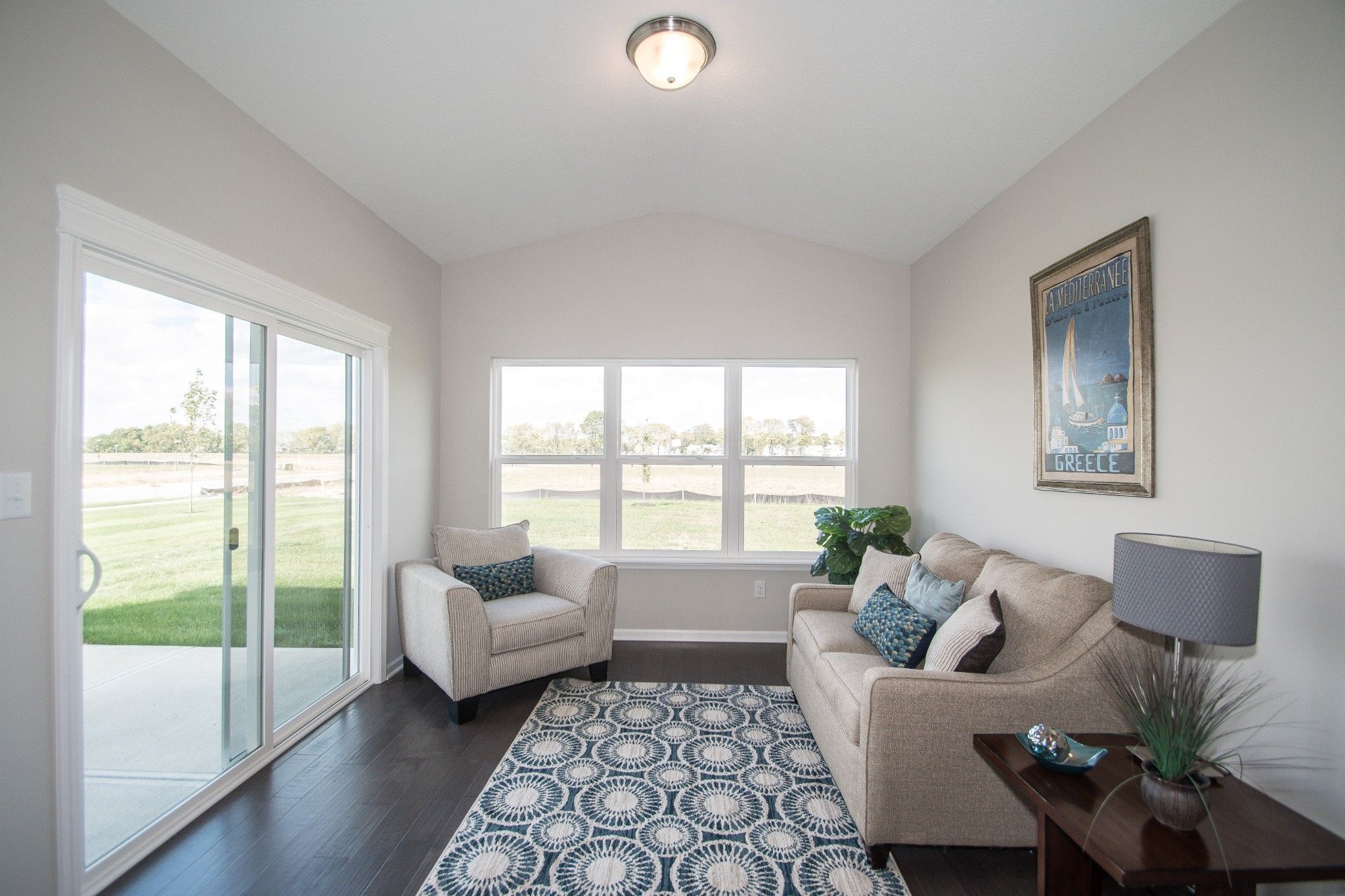 Living Area featured in the Savannah By Olthof Homes in Indianapolis, IN