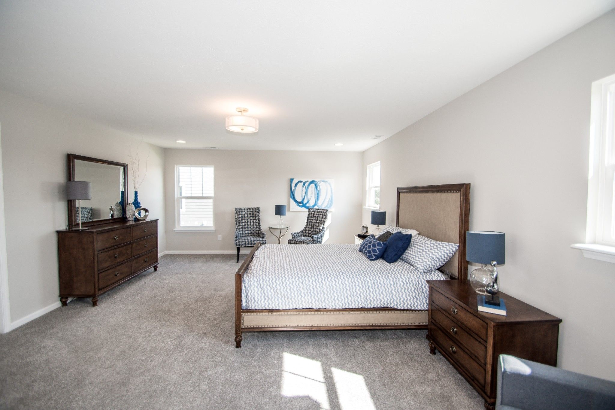 Bedroom featured in the Savannah By Olthof Homes in Indianapolis, IN