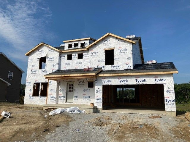 Exterior featured in the Keystone By Olthof Homes in Gary, IN