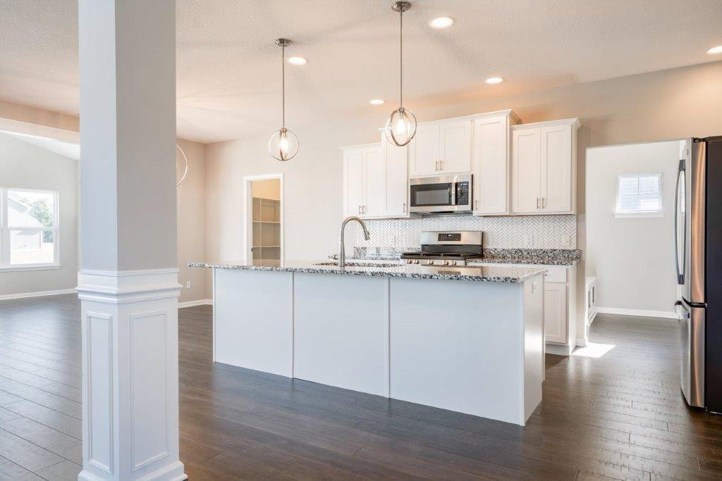 Kitchen featured in the Sonoma By Olthof Homes in Fort Wayne, IN