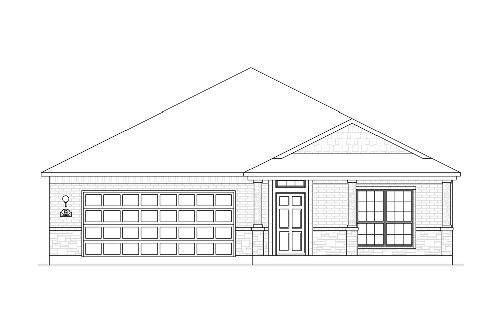 Porter Home Plan by Omega Builders in Hills of Westwood