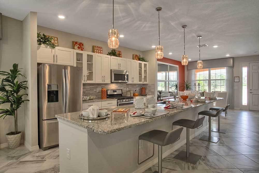 Kitchen featured in the Crescent Ridge - Orchid By Colen Built Development, LLC in Ocala, FL