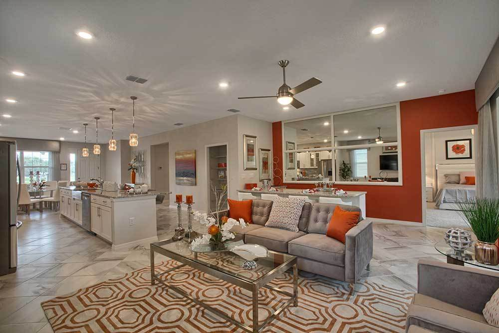 Living Area featured in the Crescent Ridge - Orchid By Colen Built Development, LLC in Ocala, FL