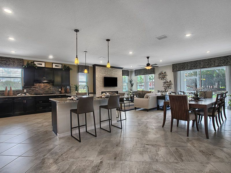 Living Area featured in the Wisteria By On Top of the World Communities in Ocala, FL