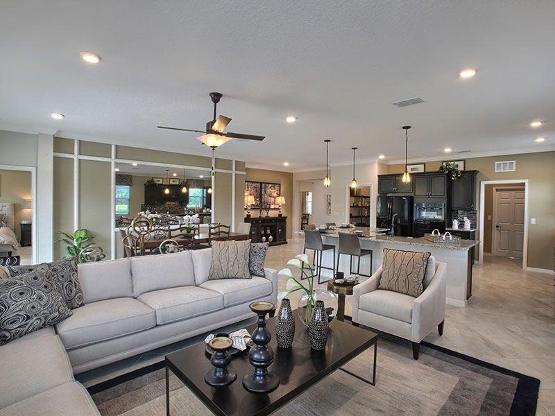 Living Area featured in the Crescent Ridge - Wisteria By Colen Built Development, LLC in Ocala, FL