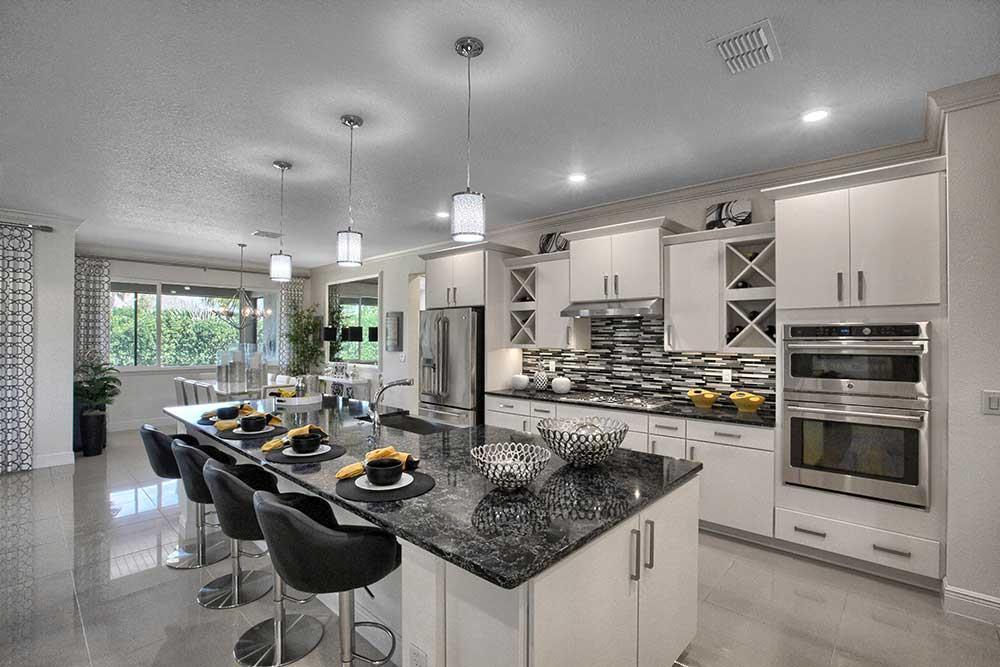 Kitchen featured in the Candler Hills - Aberdeen By Colen Built Development, LLC in Ocala, FL