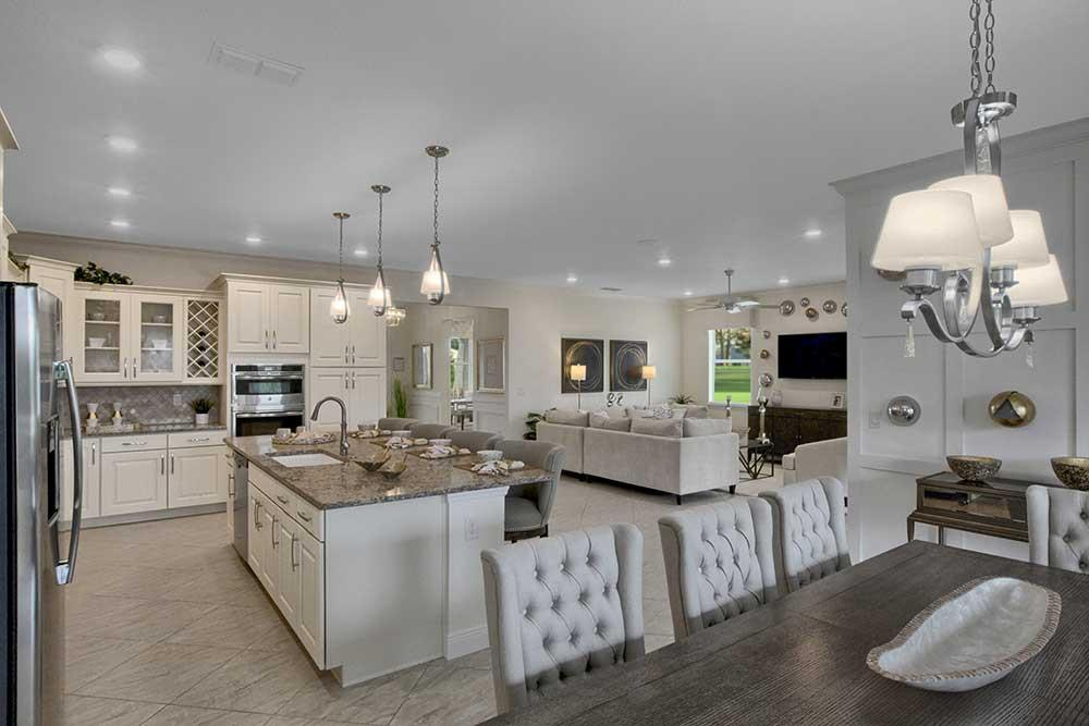 Living Area featured in the Arlington By On Top of the World Communities in Ocala, FL