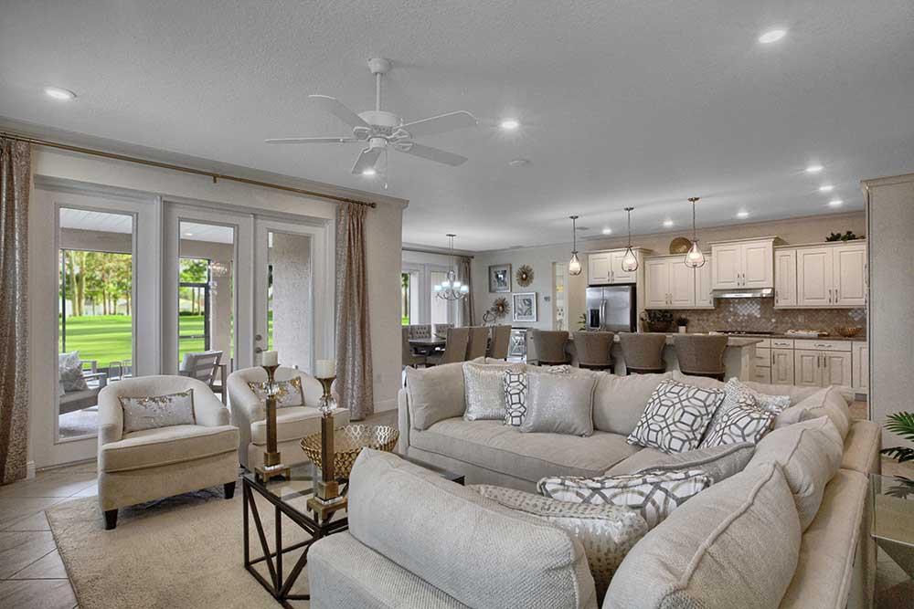 Living Area featured in the Candler Hills - Arlington By Colen Built Development, LLC in Ocala, FL
